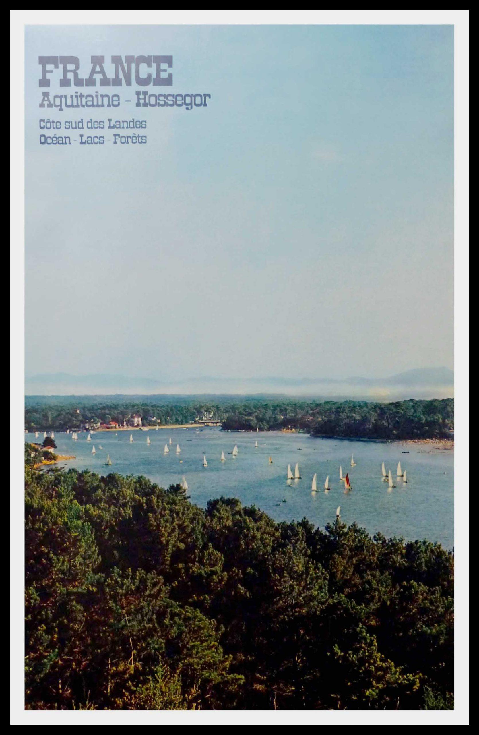 """(alt=""""original travel poster Hossegor Basque coast Anonymous 1972"""")"""