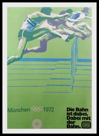 "(alt=""Original vintage Poster Olympic Games Munich 1972 Athletics Munich Germany Max MÜHL BERGER 1972"")"