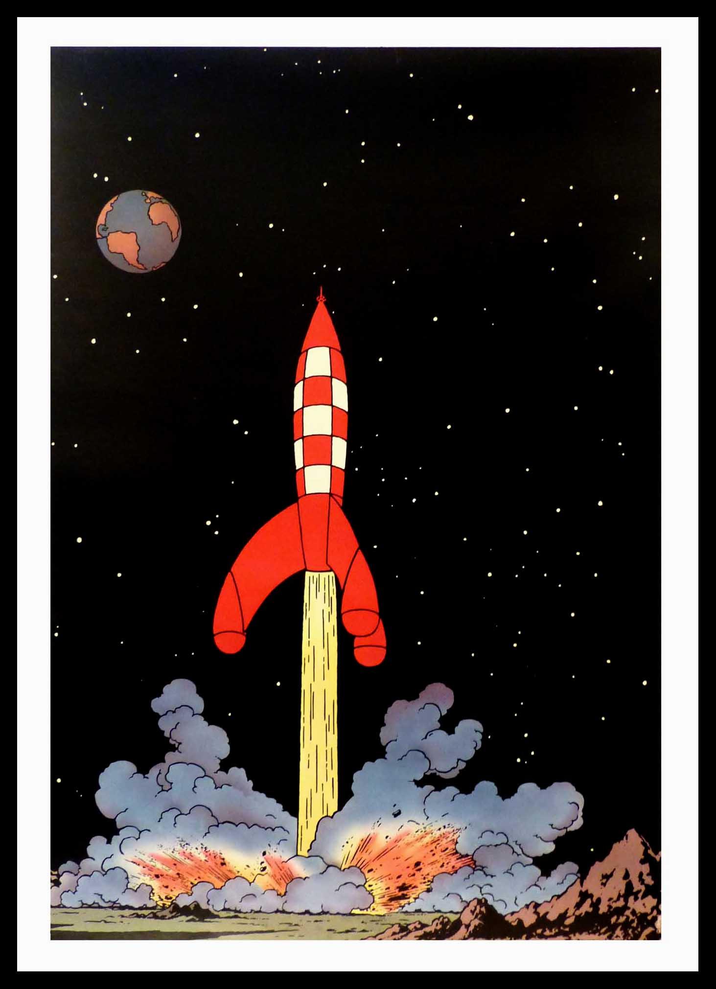 fusée tintin
