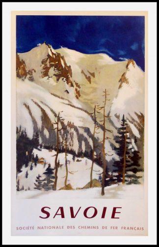 "(alt=""original travel poster SAVOIE Chambéry signed FONTANAROSA 1948"")"