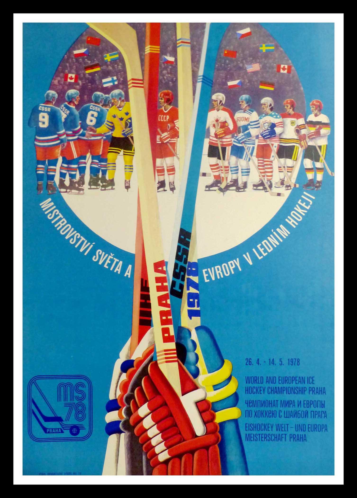 "(alt=""original winter sport poster World and European ice hockey 1978"")"