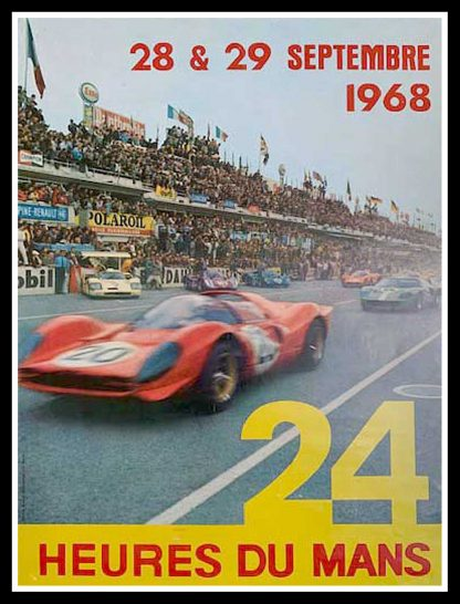"(alt=""original racing car poster 24 HEURES DU MANS photo André DELOURMEL 1968"")"